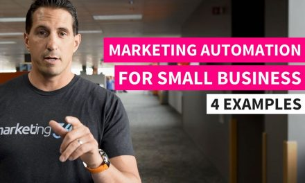 How to do Marketing Automation for Small Businesses – 4 Examples