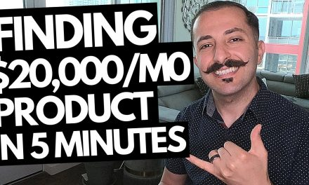 CRAZY Amazon FBA Product Research Technique That Found Me A $20,000/Month Product In 5 Minutes!