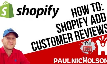 How To: Shopify Add Customer Product Reviews