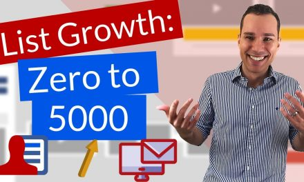 Email Marketing Tutorial For Beginners – Get Your First 5,000 Sub  (Free Software + Templates)