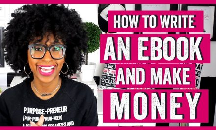 HOW TO WRITE AN EBOOK AND MAKE MONEY WITH PHYSICAL PRODUCTS (How to Make Passive Income From Ebooks)