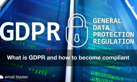 GDPR and how it relates to Email Marketing